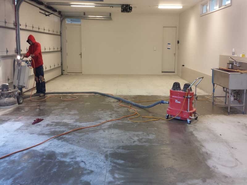 Residential garage flooring gallery take a tour for Two car garage square footage