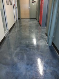 A Gleaming Epoxy Finish
