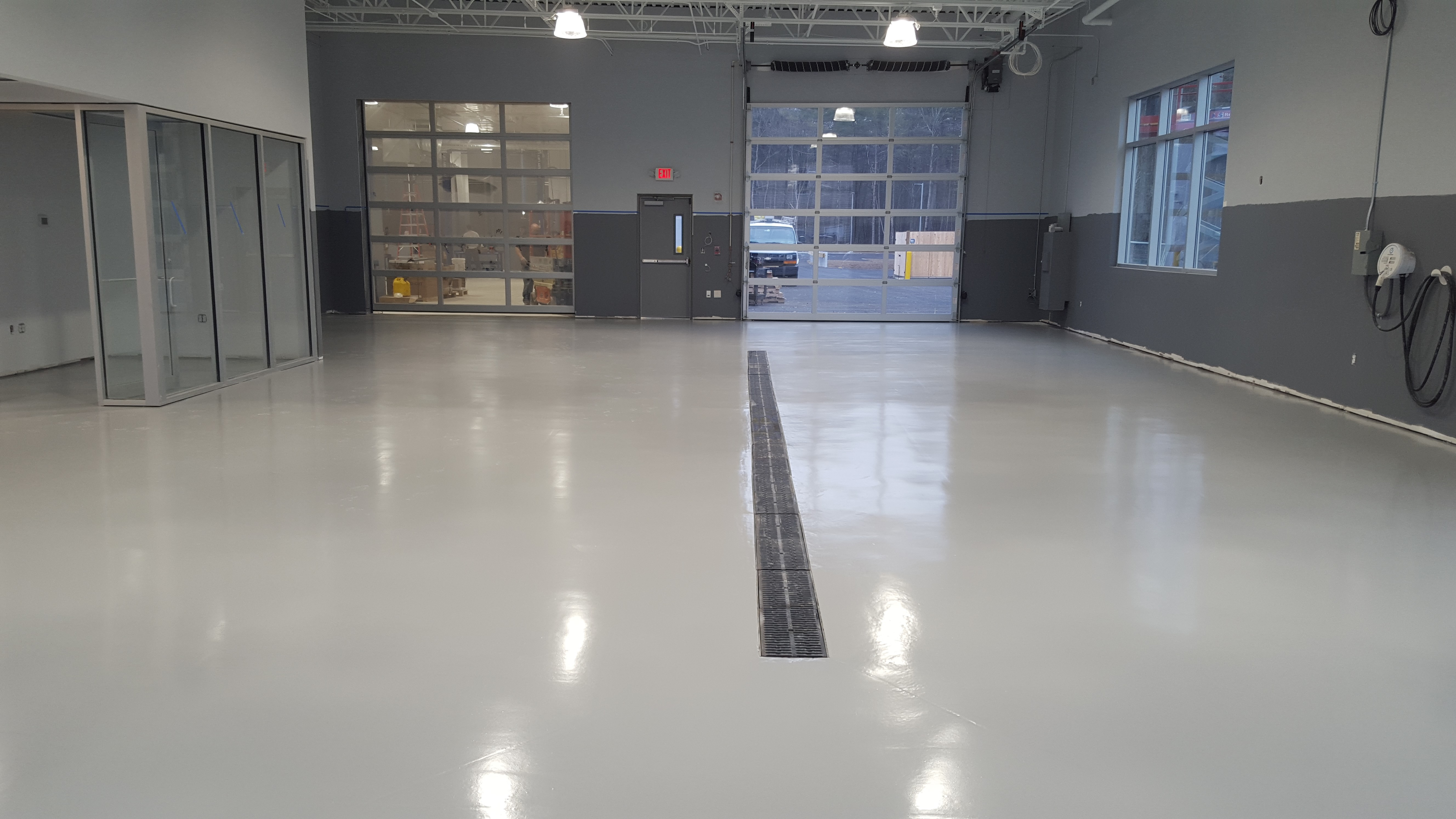 Commercial Garage Flooring Gallery | Take A Tour