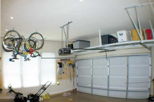 Ceiling Racks For Off-Floor Storage